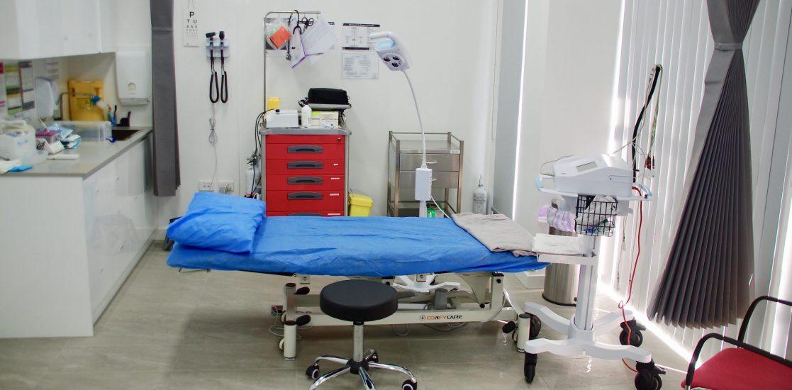 Paramount Health Service Treatment room